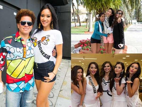 Keseruan Elvira Devinamira Mengikuti Ajang Miss Universe