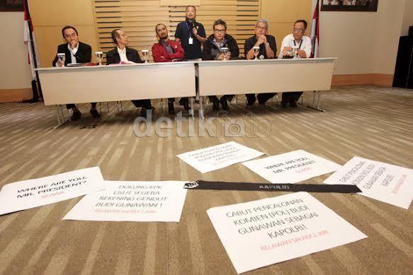 Relawan: Soal Kapolri, Jokowi Harus Pakai Nalar Publik