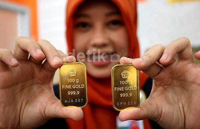 Awal 2015 Harga Emas Sudah Lompat Rp 28000gram