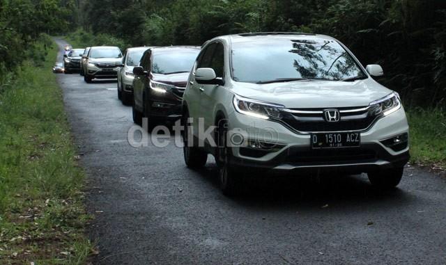 Menjajal Performa Honda CR V