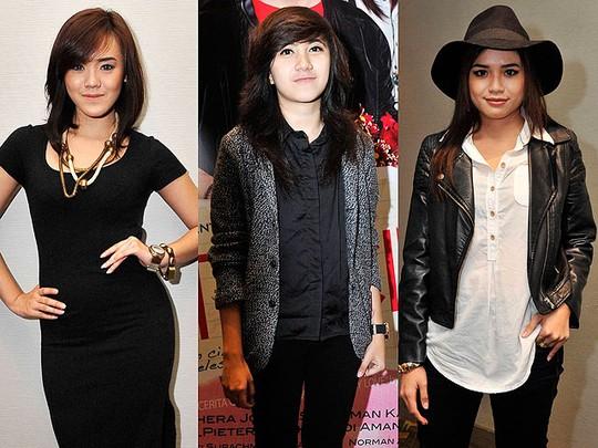 Para Bintang Idol di Film 'Cerita Cinta'