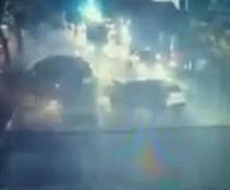 Dari Rekaman CCTV, 2 Motor Ditabrak Christopher Hingga Melayang