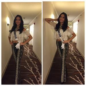 Elvira Devinamira Pakai Busana Kim Kardashian Saat GR Miss Universe