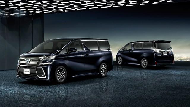 Toyota Permak MPV Mewah Alphard
