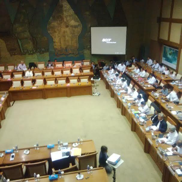 Rapat Komisi VII dengan Menteri ESDM