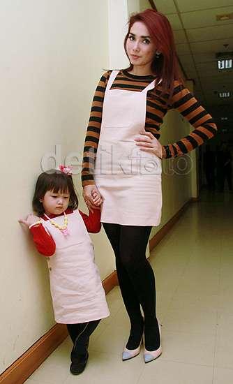 Chibul, Putri Ussy dan Andhika yang Cute Banget!