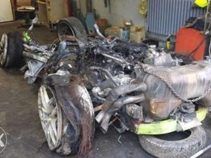 Walah, Bangkai Lamborghini Bekas Kecelakaan Ini Dijual Rp 90 Juta