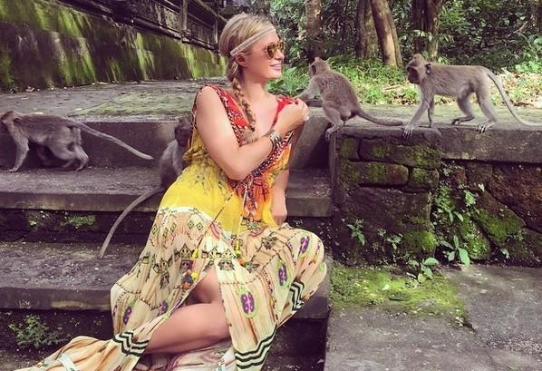 Monkey Forest Objek Wisata Bali Pilihan Paris Hilton