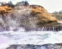 Cipratan air ke karang