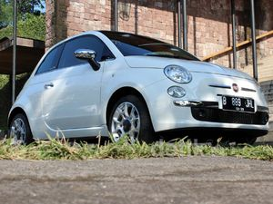 Tampilan Imut Fiat 500 Cabriolet