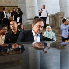 Banding Kasus Sodomi Ditolak, Anwar Ibrahim Divonis 5 Tahun Bui