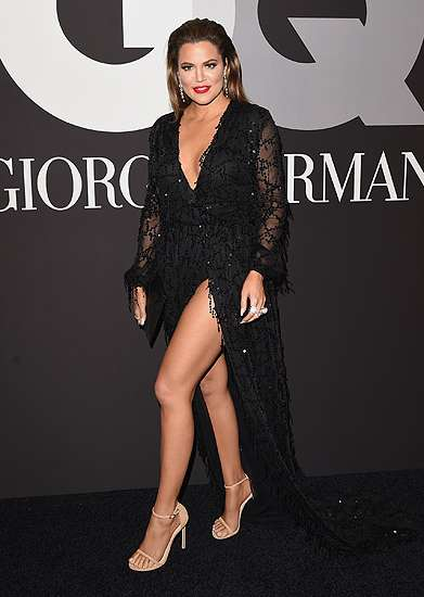 Khloe Kardashian Pamer Paha di After Party Grammy 2015