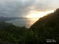 Sunrise cantik di Bukit Habibie