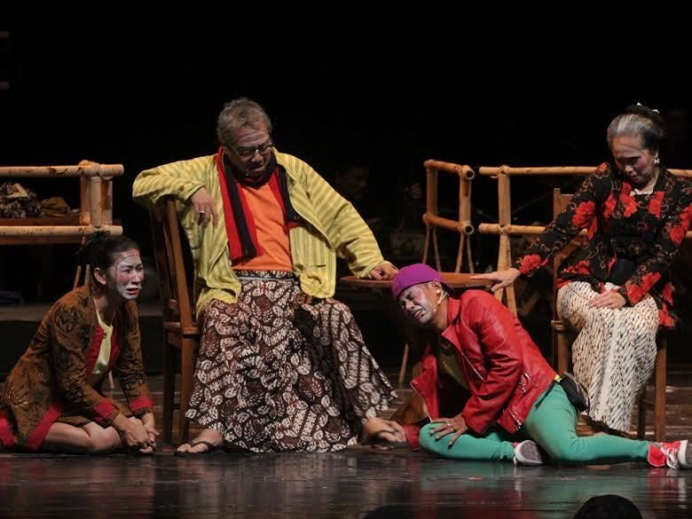 Agus Noor Rombak Dua Naskah Penulis Senior Teater Gandrik
