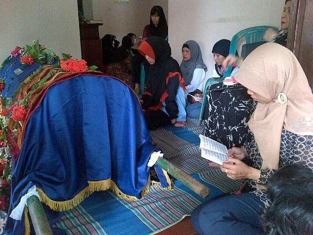 Suasana Rumah Alex Komang di Jepara