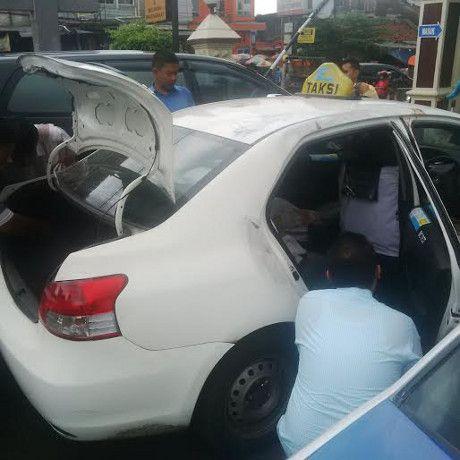 Olah TKP Pembunuhan Sopir Express Dimulai di Halaman Polsek Pasar Minggu