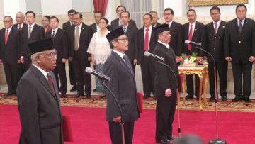 Presiden Jokowi Resmi Lantik 3 Plt Pimpinan KPK