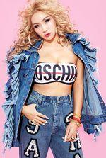 CL '2NE1' Seksi di Majalah Complex