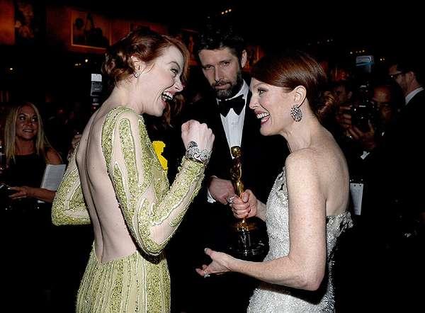 Seperti Apa Suasana Backstage Oscar 2015? Ini Foto-fotonya!