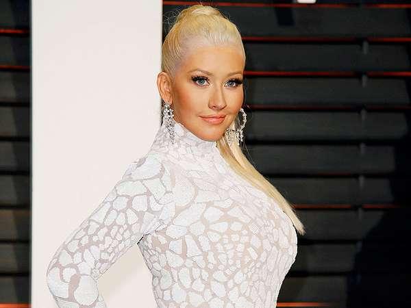 Punya 2 Anak, Christina Aguilera Makin Montok