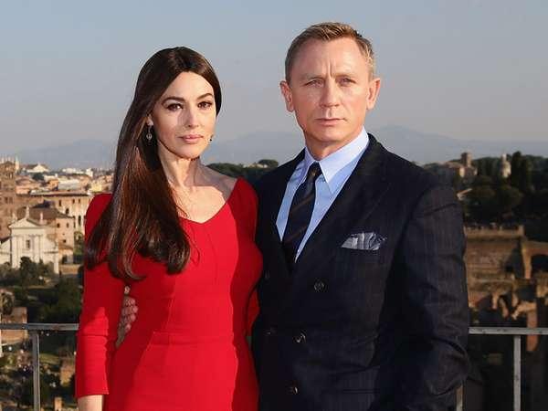 Daniel Craig dan Monica Bellucci Serasi di Sesi Foto 'Spectre'