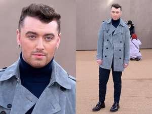 Gaya Sam Smith di London Fashion Week