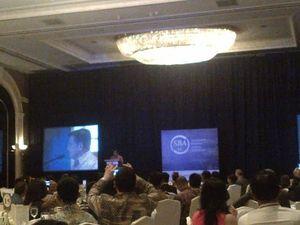 JK dan SBY Reunian di Acara Penghargaan Sektor Bisnis