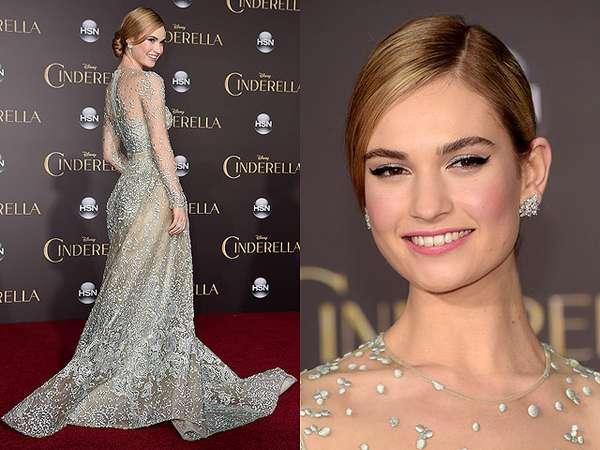 Cantiknya Lily James, Cinderella di Kehidupan Nyata