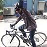 Syahrini & Sepeda Fixie-nya