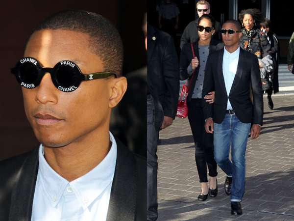 Pharrell Williams Tetap Stylish di Persidangan