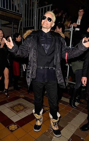 Tak Hanya Kim Kardashian, Rambut Jared Leto Kini Juga Pirang!