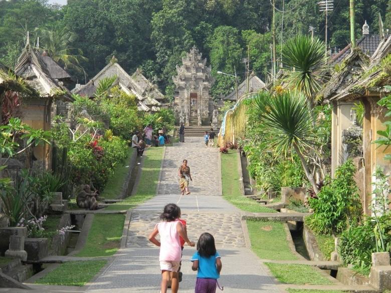 Desa Penglipuran di Kabupaten Bangli, Bali (Sastri/detikTravel)