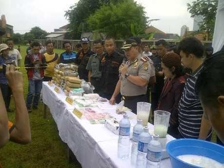 Polres Jakbar Musnahkan 3,3 Ton Ganja dan 1.834 Gram Sabu