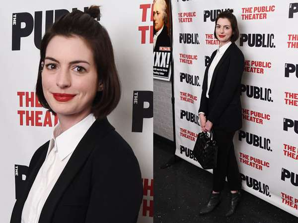 Gaya Formal Anne Hathaway