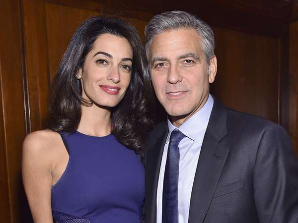 George Clooney dan Amal Alamuddin Makin Mesra