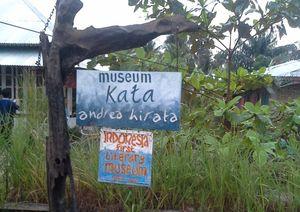 Perjalanan Romantis ke Museum Kata Andrea Hirata