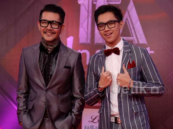 Like Father Like Son, Gaya Stylish Ferry Salim dan Brandon Nicholas