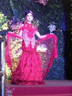 Cantiknya Prajurit TNI Berlenggok di Atas Catwalk Wedding Art Festival