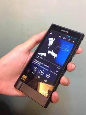 Sony Walkman NW ZX2 (adi/detikINET)