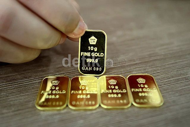 Akhir Pekan Harga Emas Antam Stagnan Di Rp 542000gram