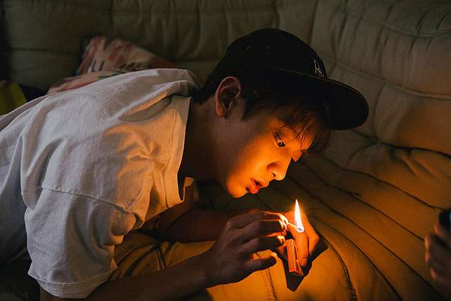 Chanyeol 'EXO' Berpose di Hutan Arizona untuk 'EXODUS'
