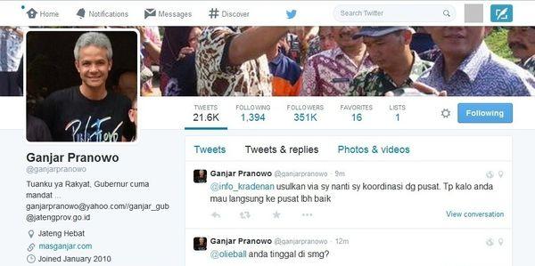 Menengok Kesibukan Kepala Daerah yang Aktif Respon Warga via Twitter