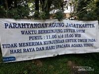 Jadwal Kunjungan ke Pura Parahyangan Agung