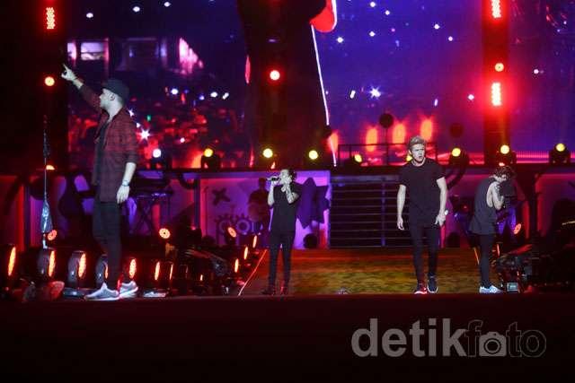 Ini Aksi One Direction di Jakarta