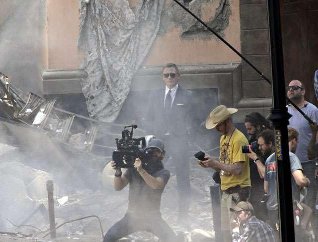 Mengintip Syuting Film Bond ke-24 di Meksiko