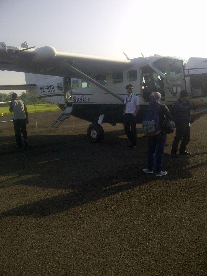 Begini Asyiknya Terbang Jakarta Pangandaran Dengan Pesawat Mungil