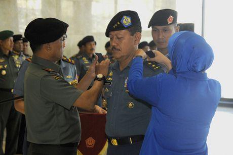 Bersama 26 Perwira Tinggi Lainnya, Wakasal Mendapat Kenaikan Pangkat