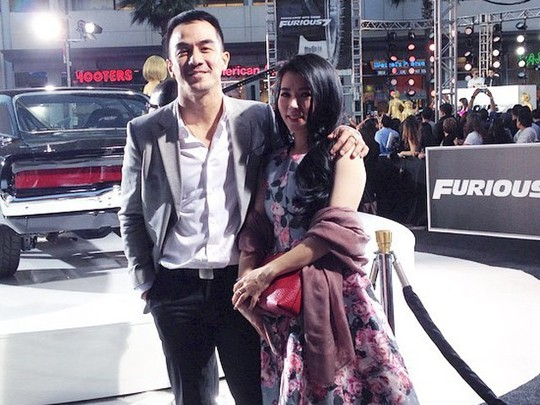 Joe Taslim Eksis di Premiere 'Furious 7' Hollywood