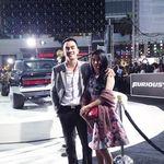 Joe Taslim dan Vin Diesel Akrab di Premiere 'Furious 7' Hollywood