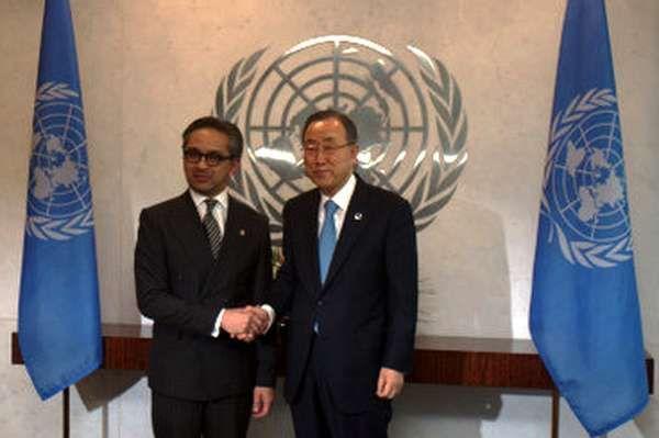 Marty Natalegawa Terpilih Menjadi Anggota Panel Tingkat Tinggi Kesehatan PBB